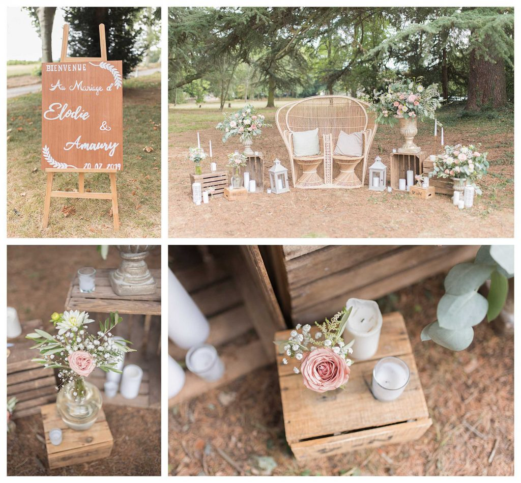 décoration mariage château des ravatys