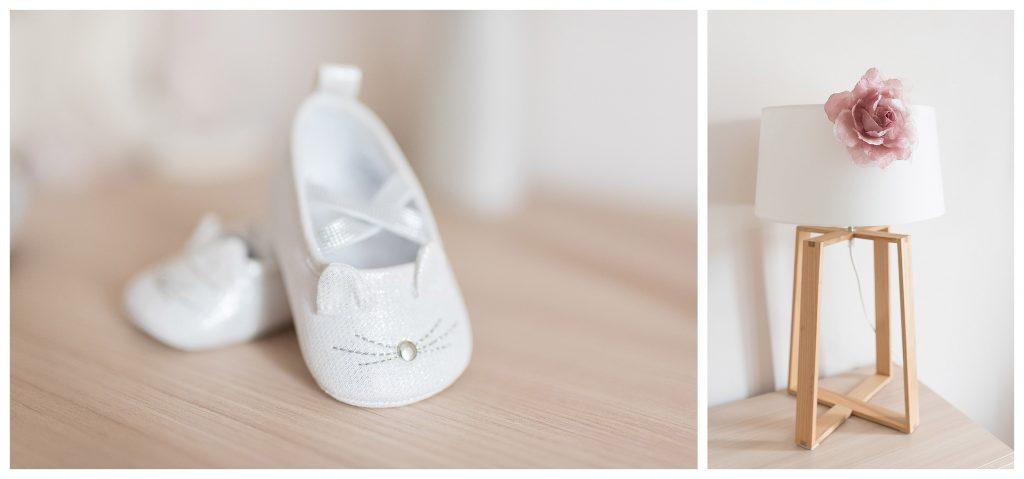 jolis chaussons de bébé