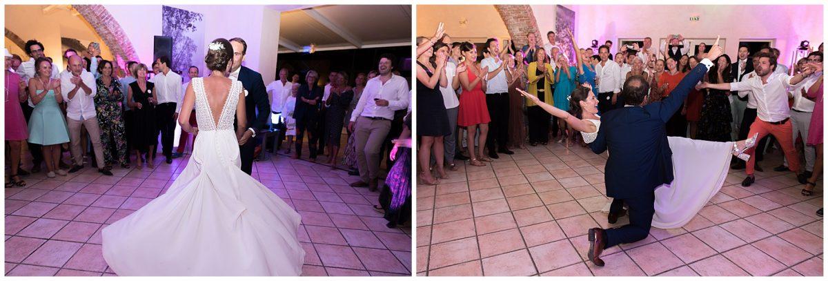 ouverture du bal des mariés