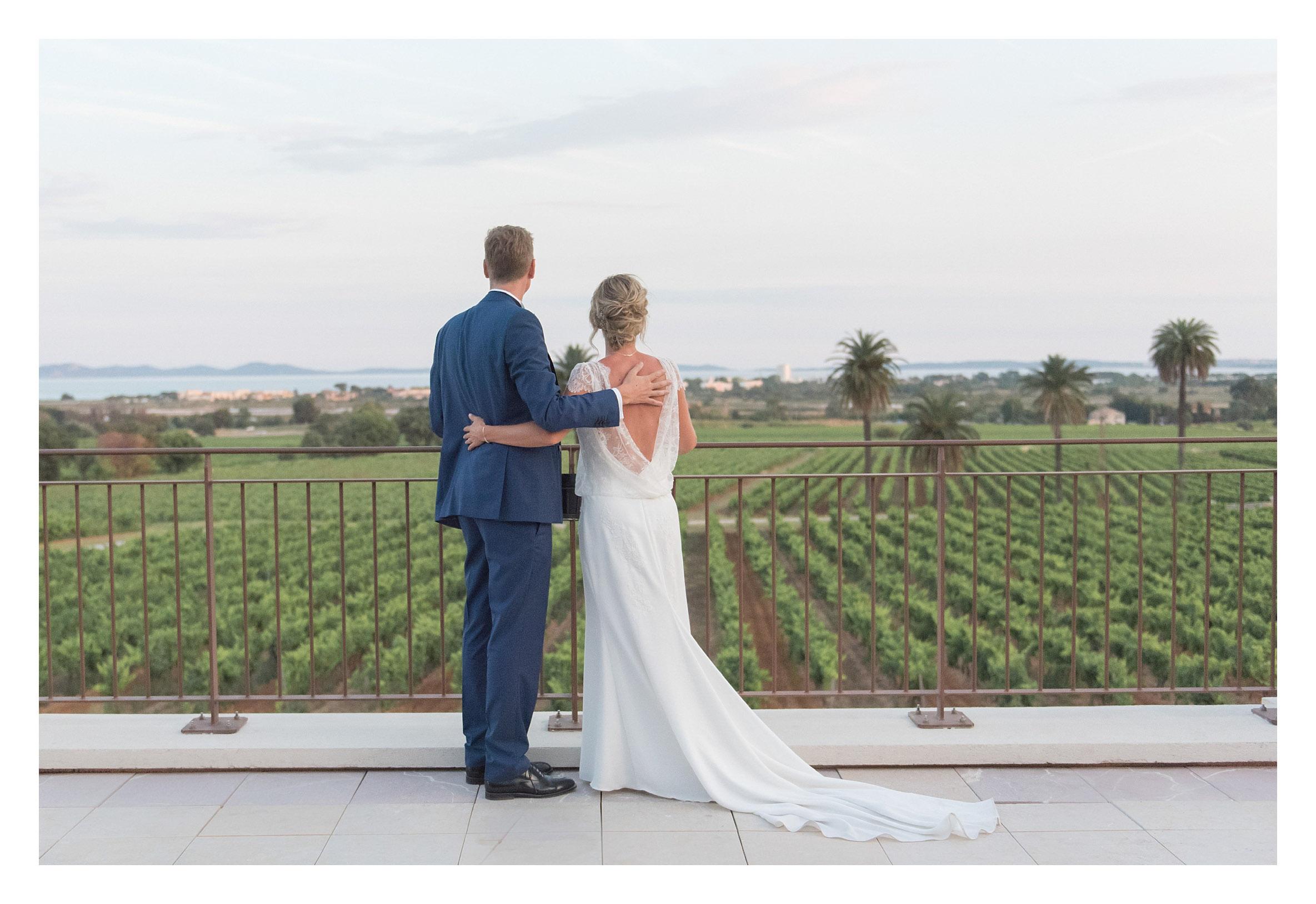 photo mariage château galoupet