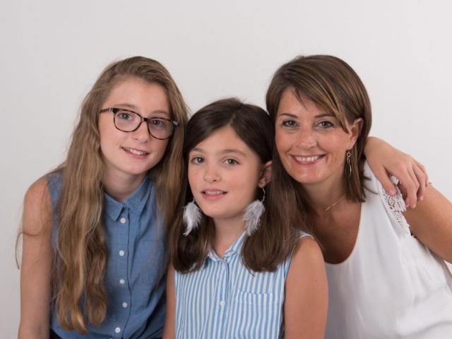 photographe de famille studio lyon