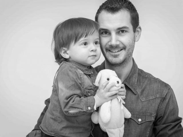 photographe famille en studio lyon