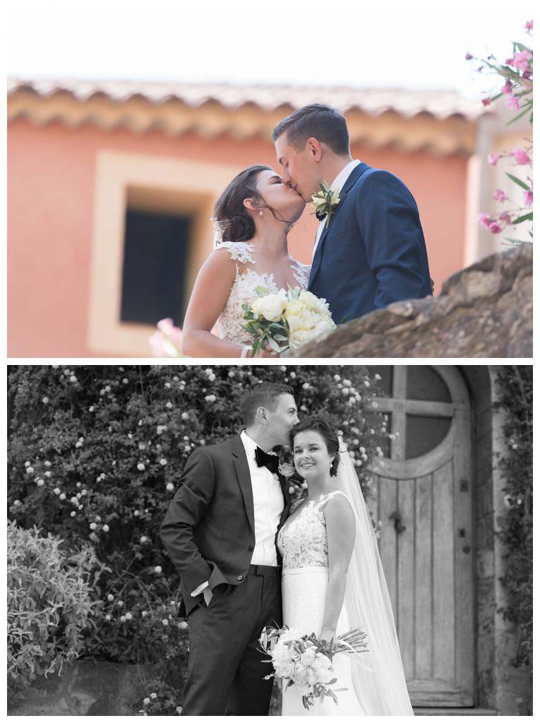 photos de mariage romantique