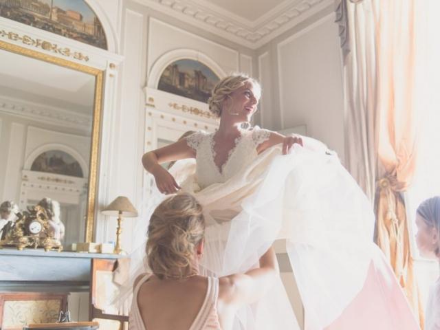 photos mariage château saint trys
