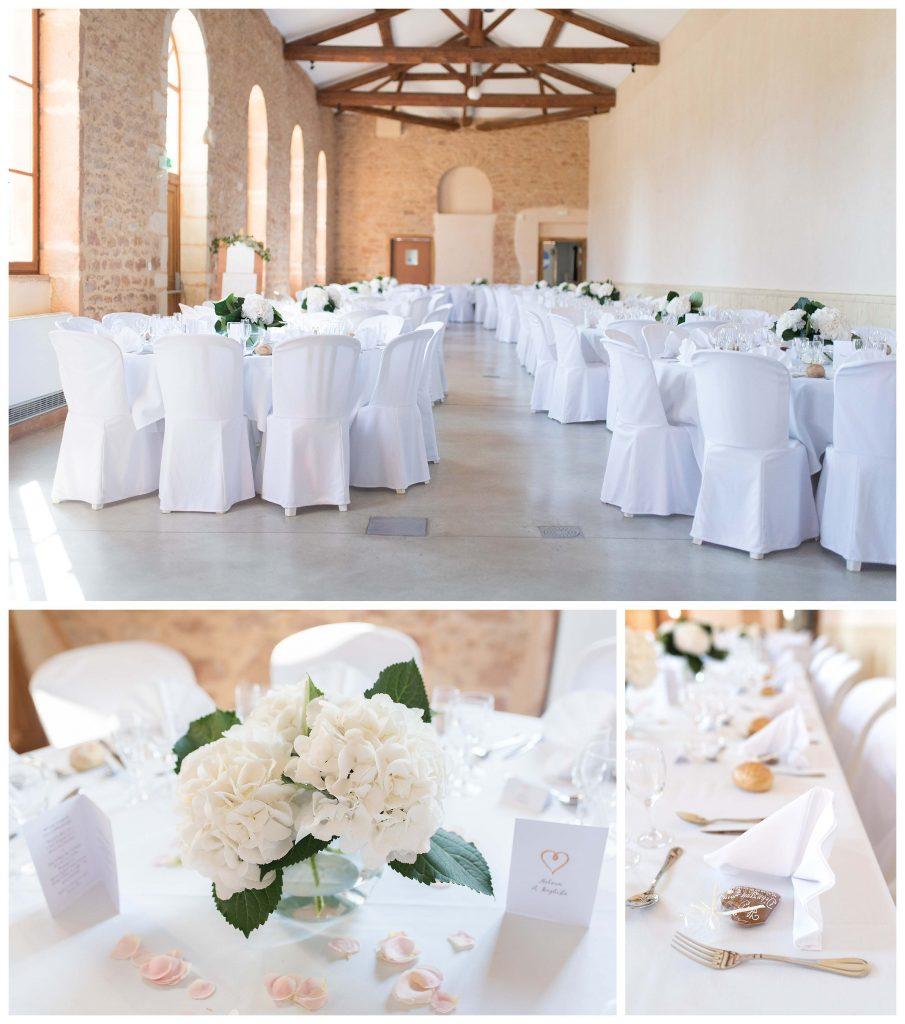réception mariage Clos des Liesses