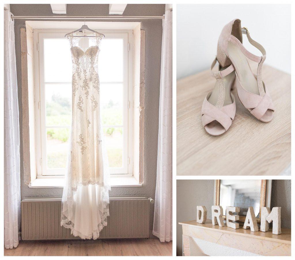 robe mariée château des ravatys