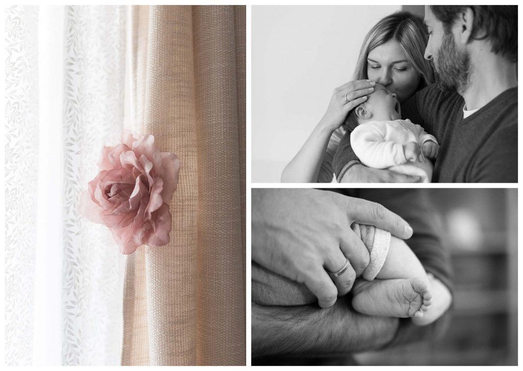 séance photo à domicile bébé Lyon