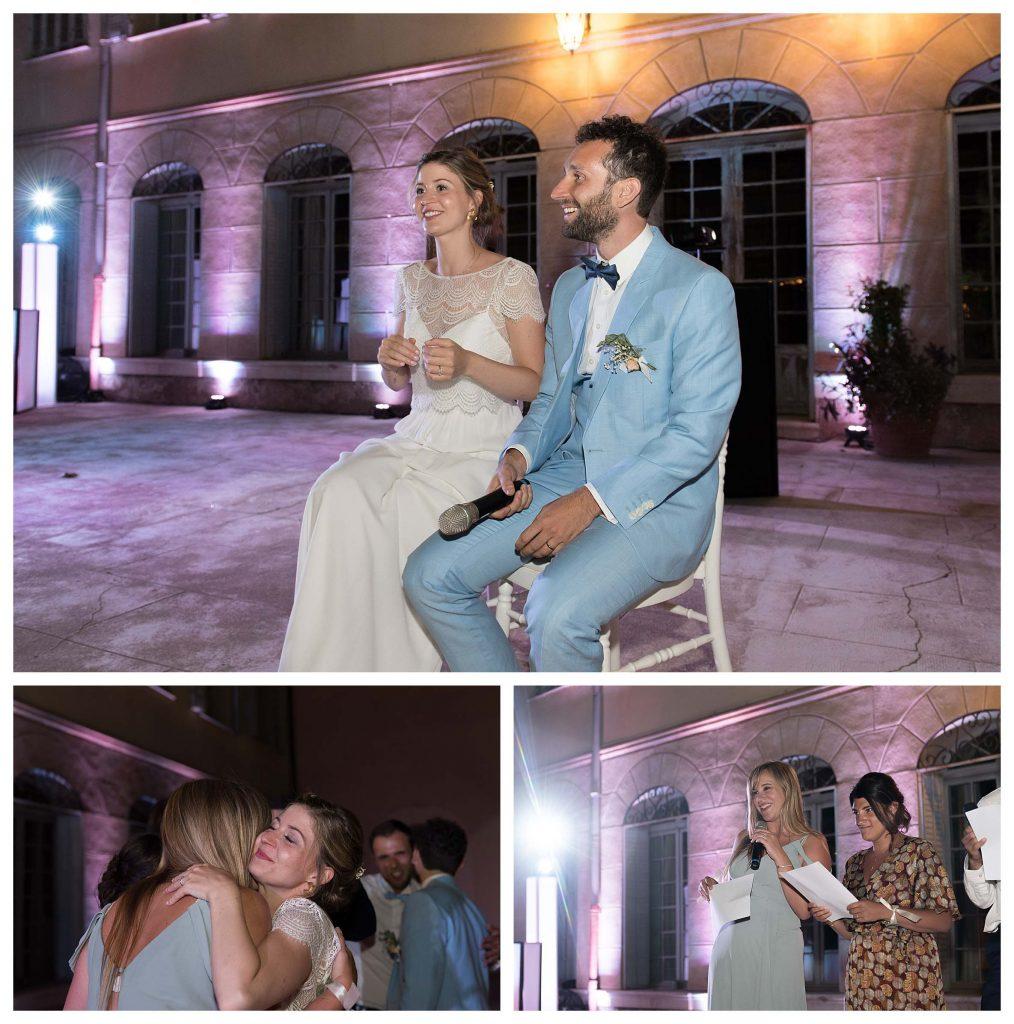 soirée mariage château colbert cannet