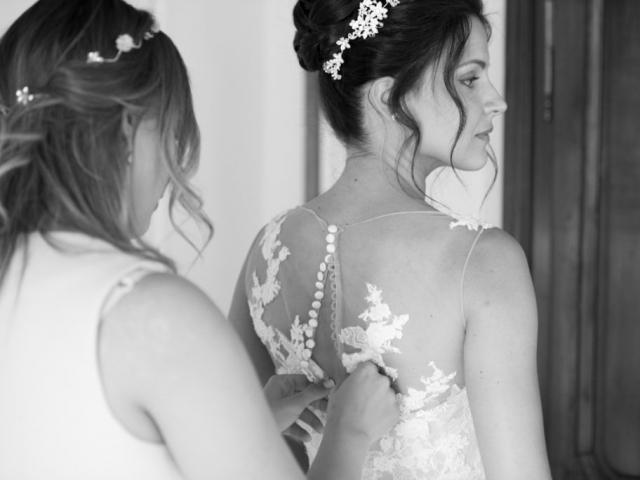 un mariage dans le beaujolais